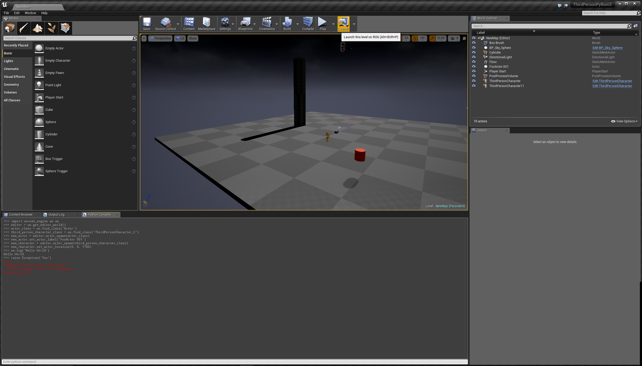 Tyler staggs advanced application scripting portfolio this plugin gives access to ue4s internal api and reflection system this means i can implement gameplay elements by executing a python script instead of malvernweather Images