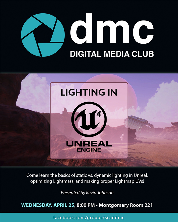 Digital Media Club – Lighting in Unreal Engine