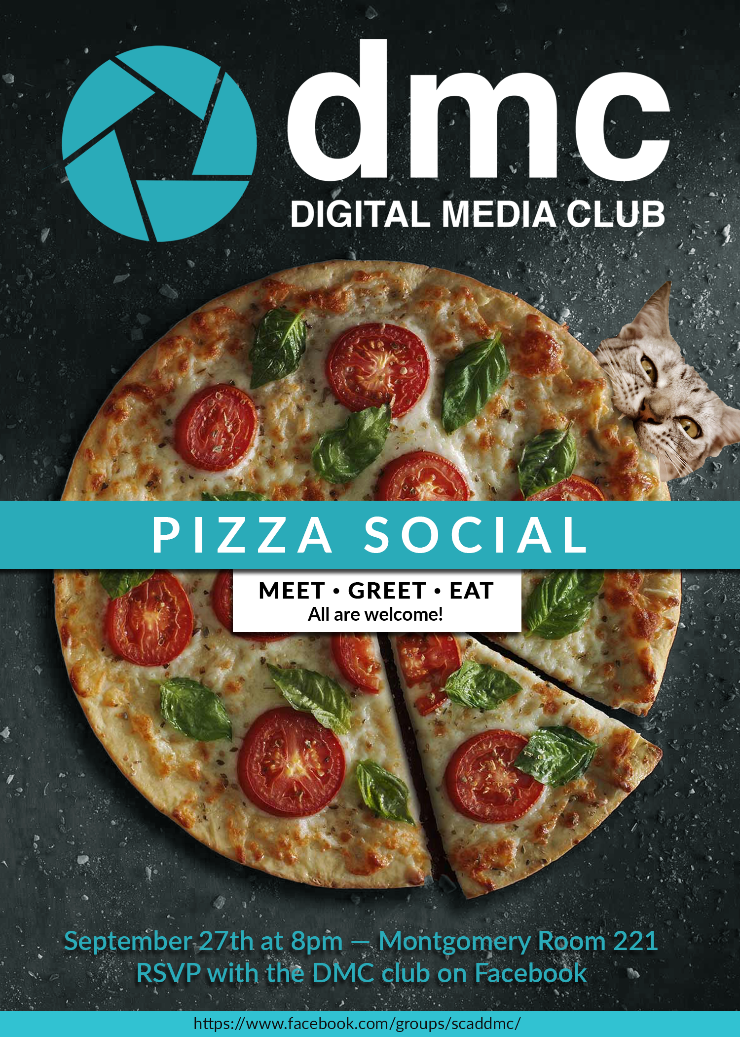 Digital Media Club Pizza Social