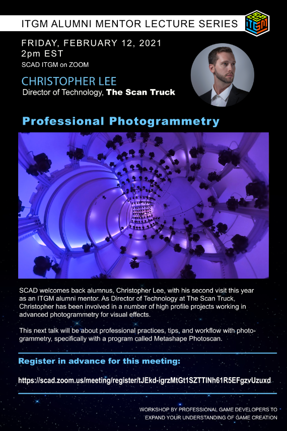 ITGM Alumni Mentor Lecture Series – Professional Photogrammetry