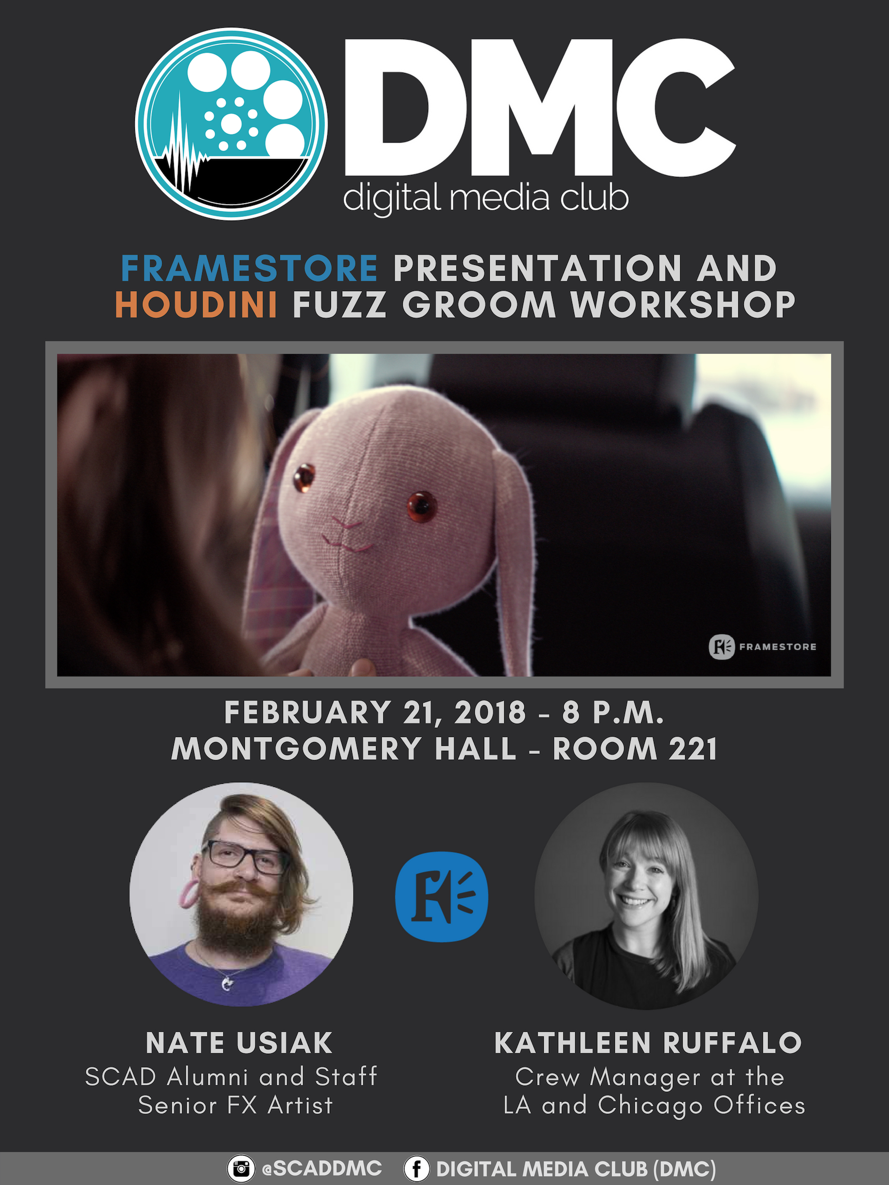 Digital Media Club – Framestore Presentation & Houdini Workshop