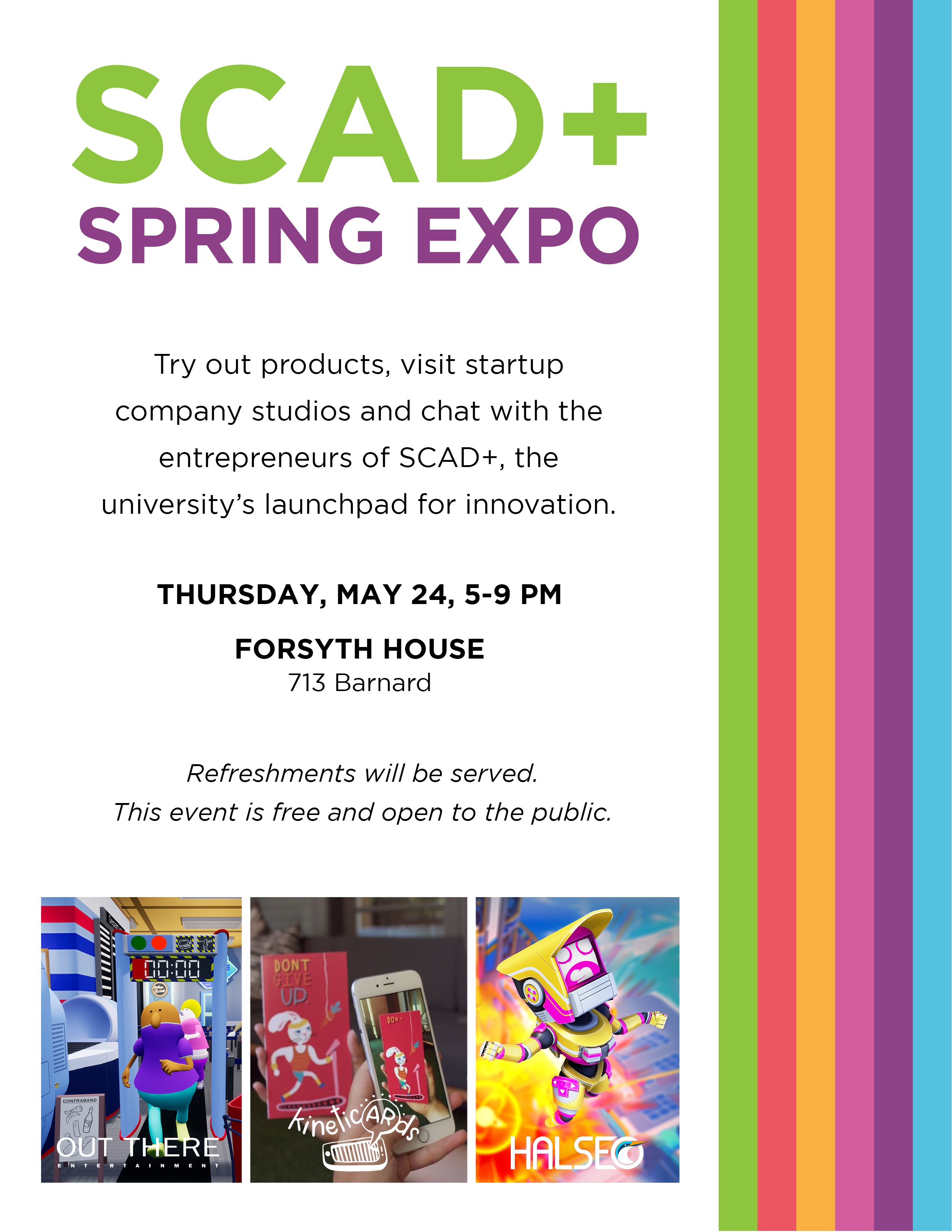 SCAD+ Spring Expo