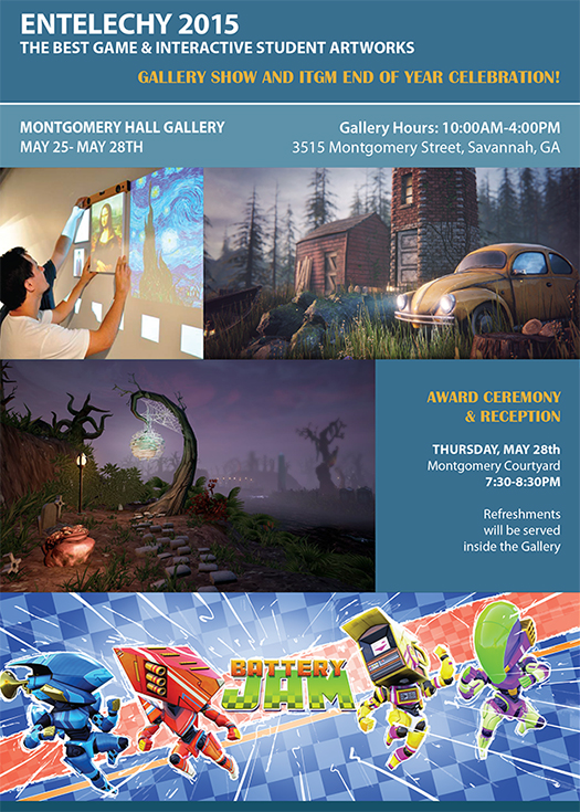 Entelechy 2015 – Gallery Show & ITGM End of the Year Celebration!!!