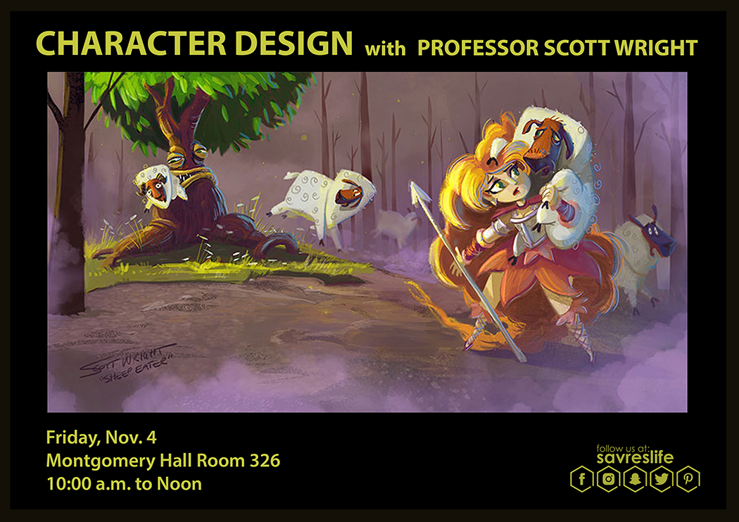 Character Design with Professor Scott Wright