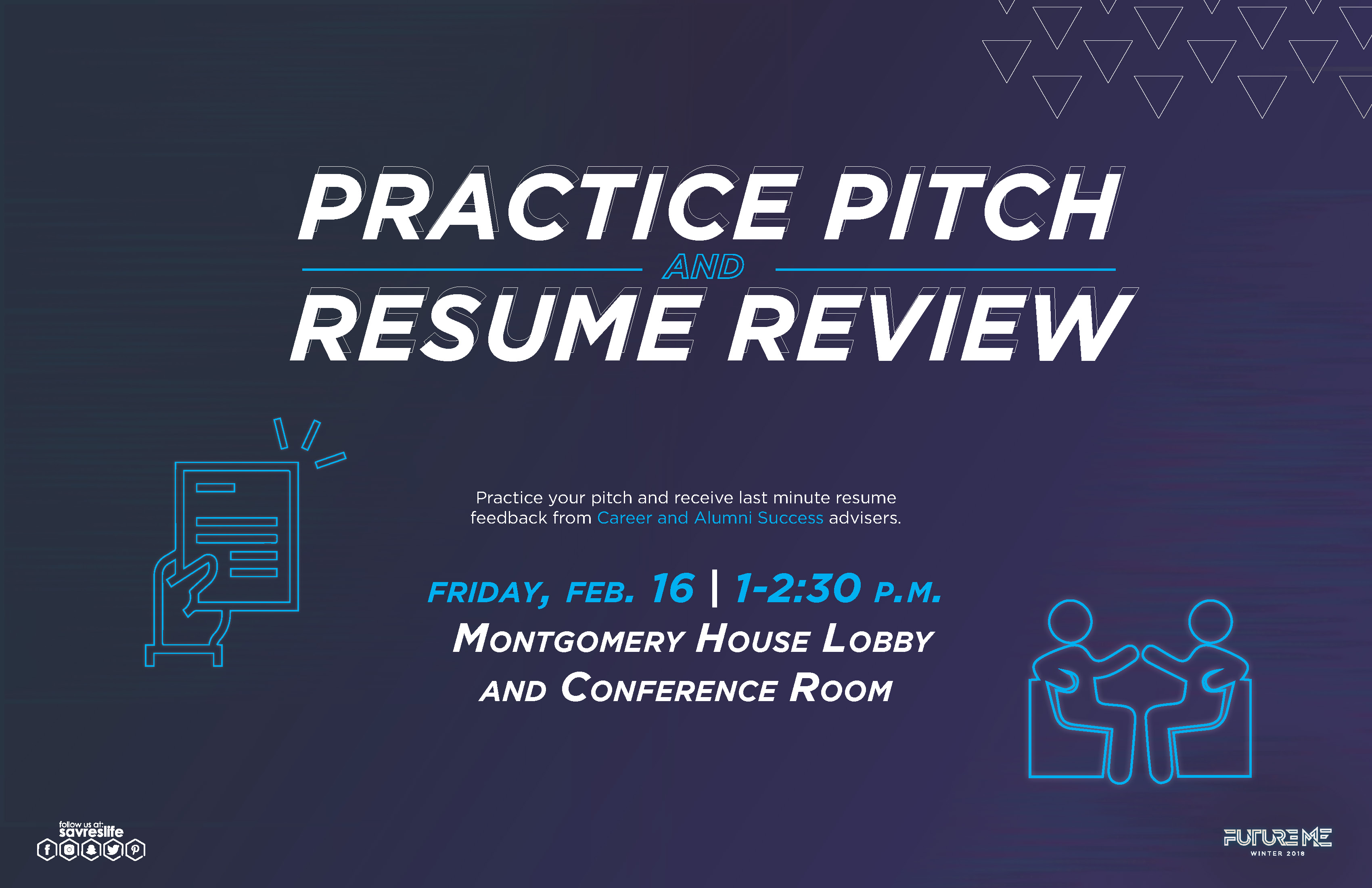 Practice Pitch and Resume Review