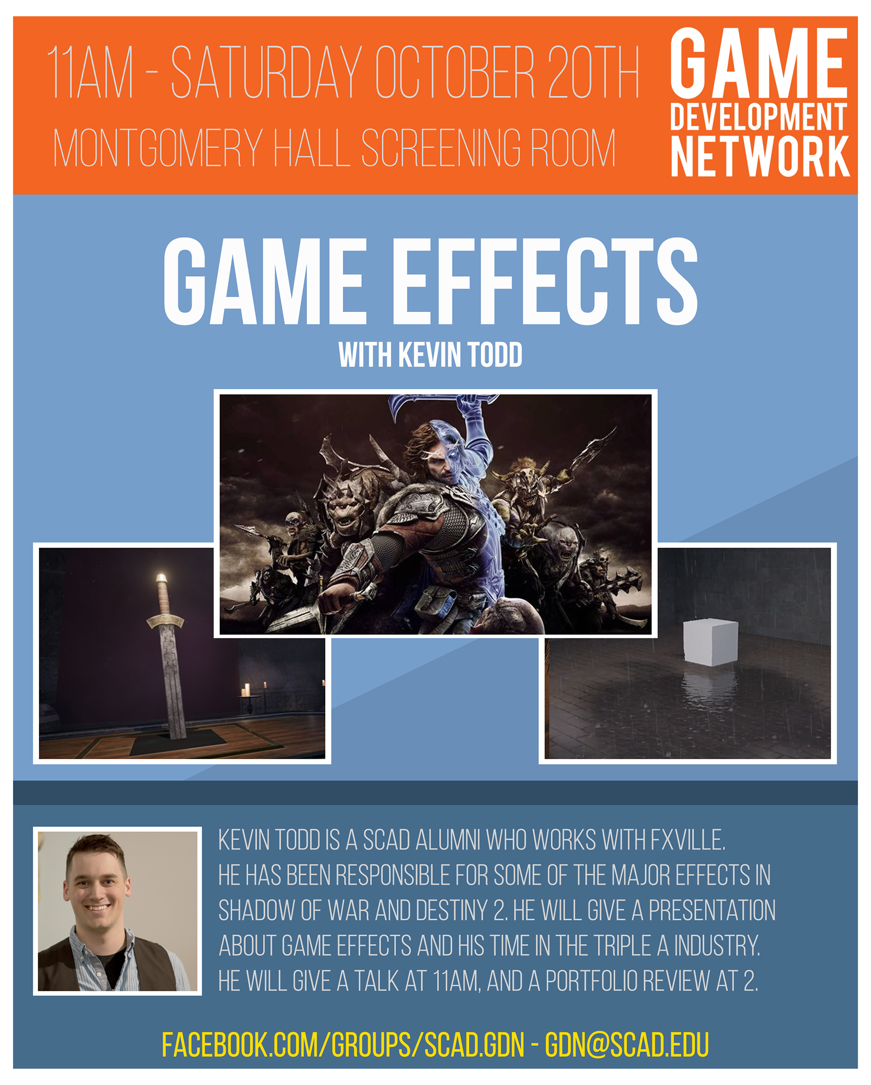 Game Development Network – Game Effects with Kevin Todd