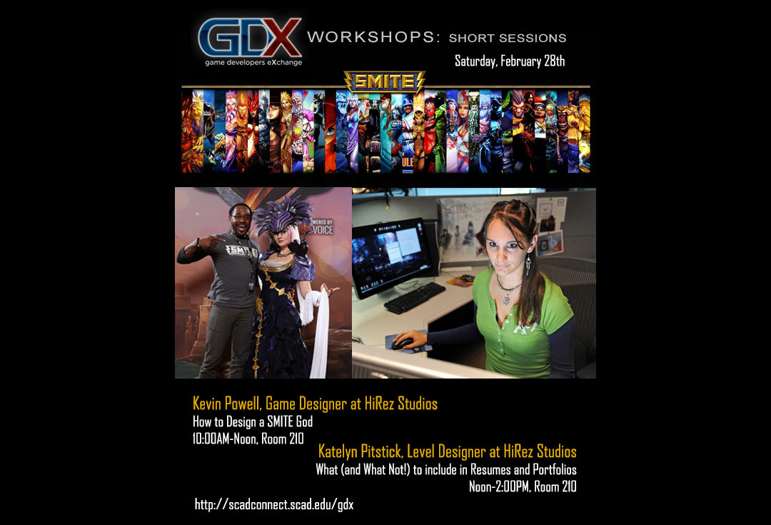 GDX Workshops this Saturday!