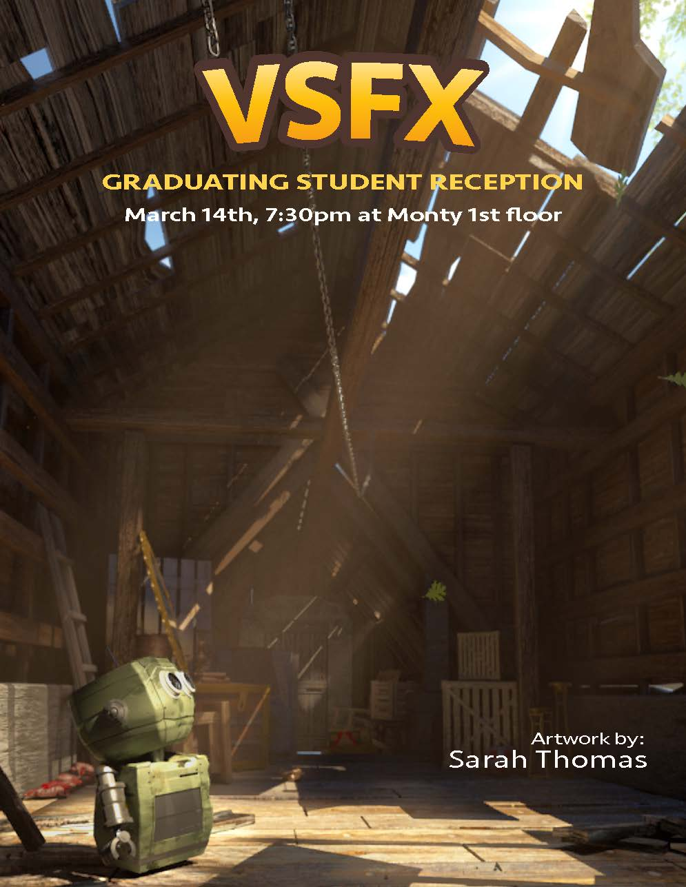 VSFX Graduating Student Reception