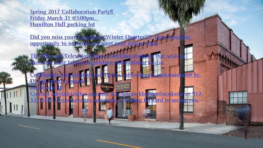 Spring 2017 Collaboration Party!!!