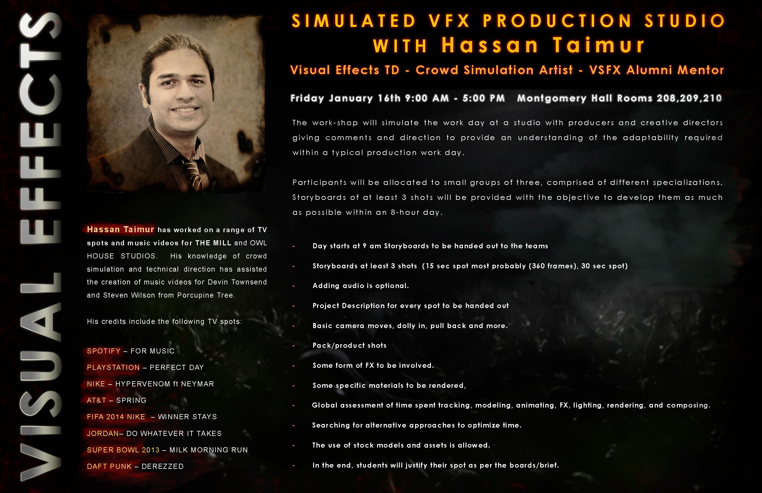 Simulated VFX Production Studio with Hassan Taimur