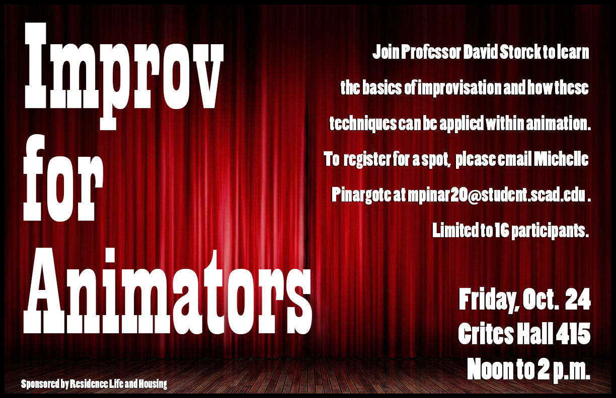 Improv for Animators