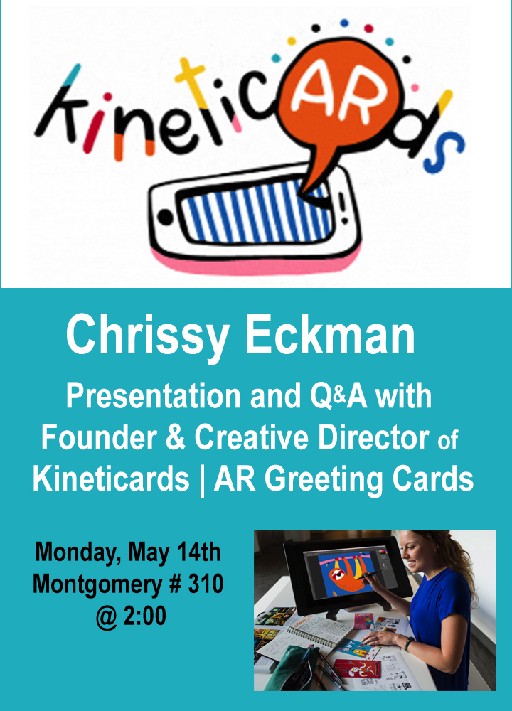 KineticARds – Presentation and Q&A with Founder and Creative Director Chrissy Eckman