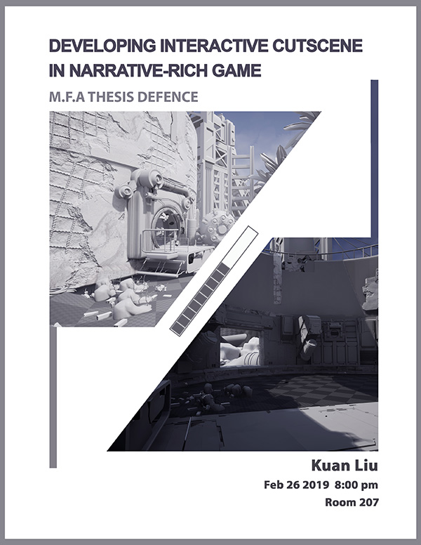 Developing Interactive Cut scene in Narrative – Rich Game