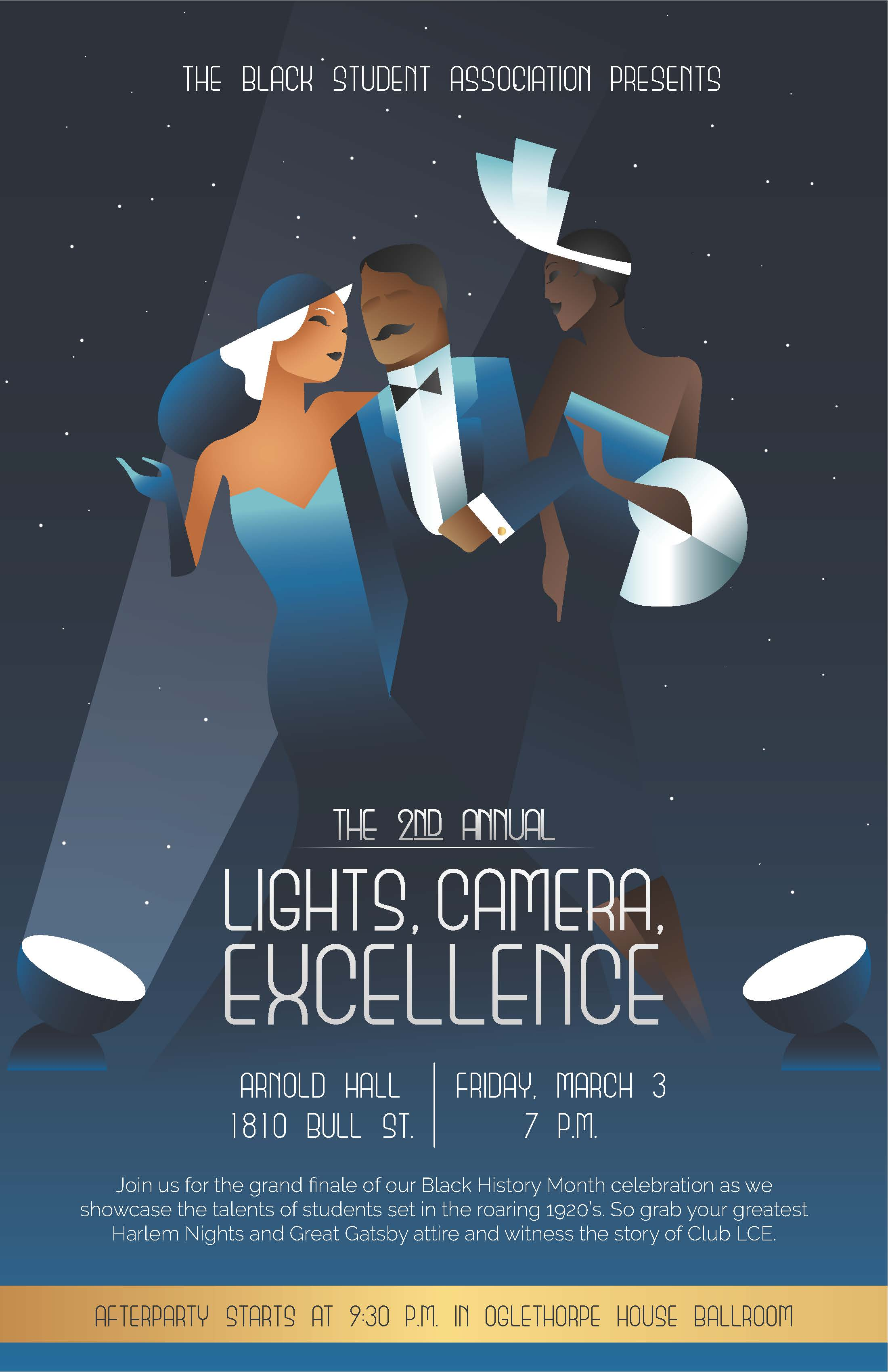 The Black Student Association Presents… Lights, Camera, Excellence