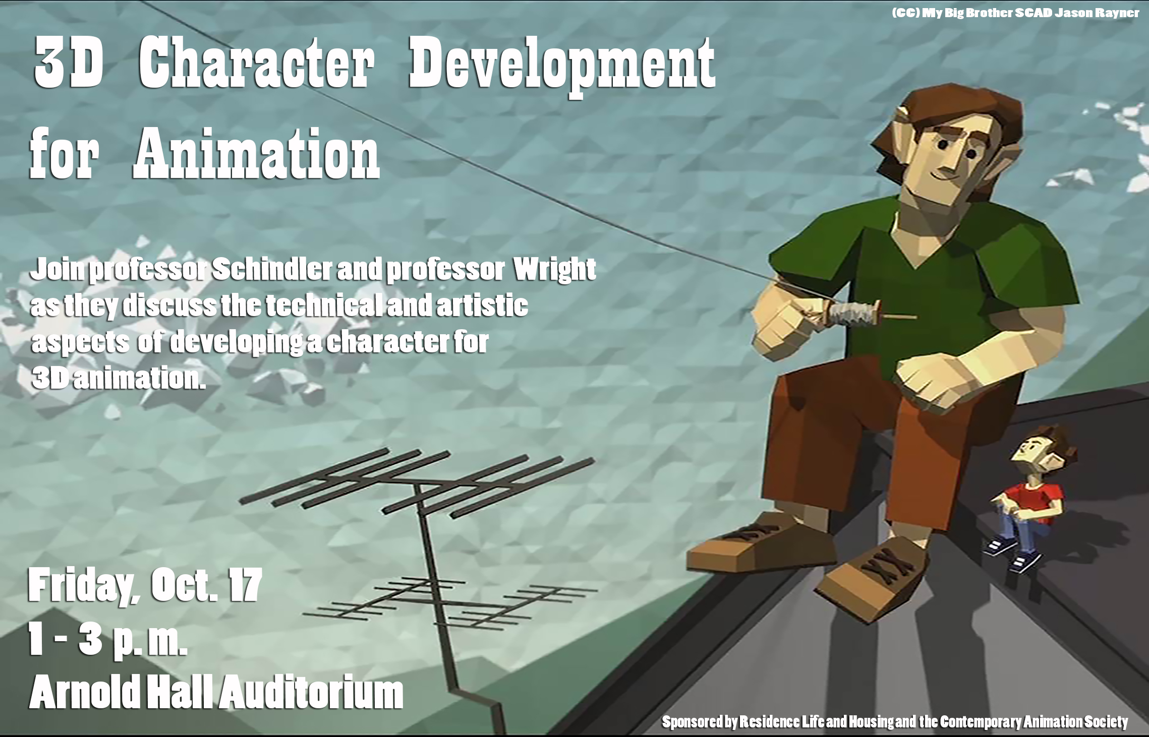 3D Character Development for Animation