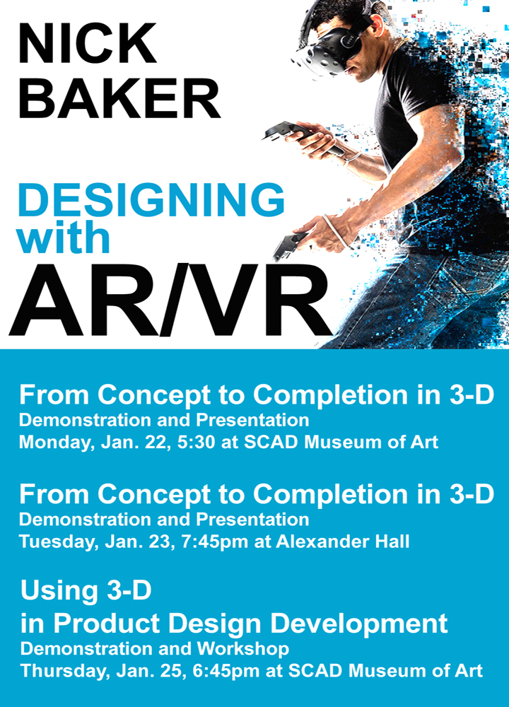 Nick Baker – Designing with AR/VR