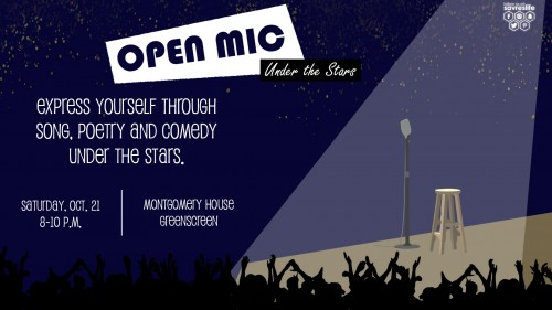 Open Mic Night Under the Stars Ad