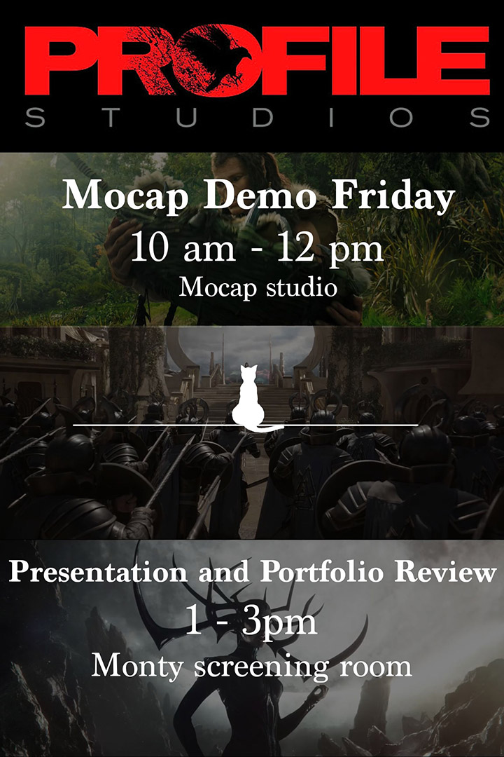 Profile Studios – Mocap Demo Friday