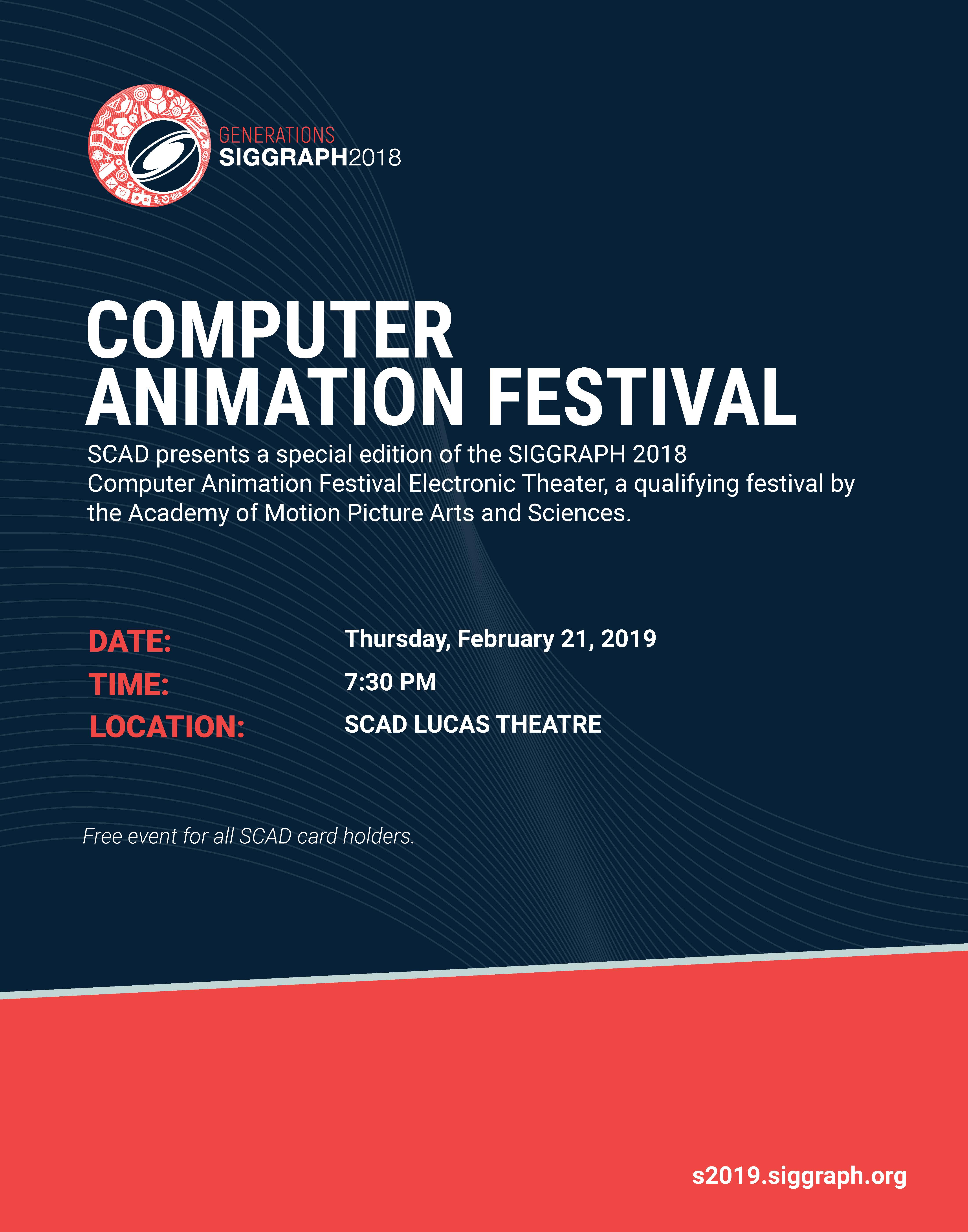 Computer Animation Festival