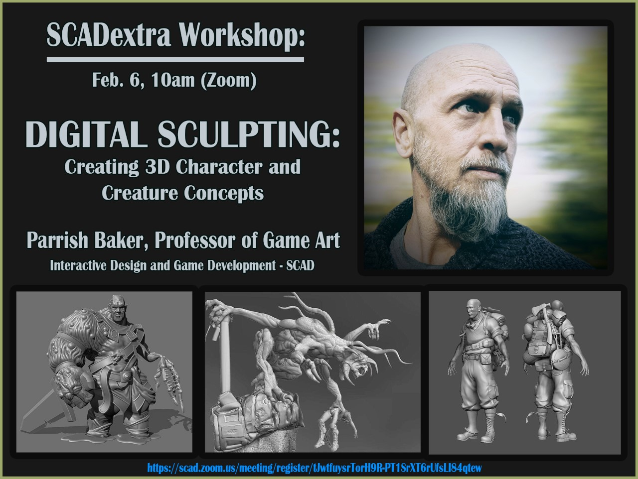 SCADextra Workshop: DIGITAL SCULPTING