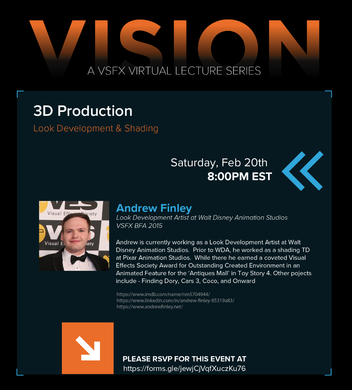 VISION Presents Andrew Finley