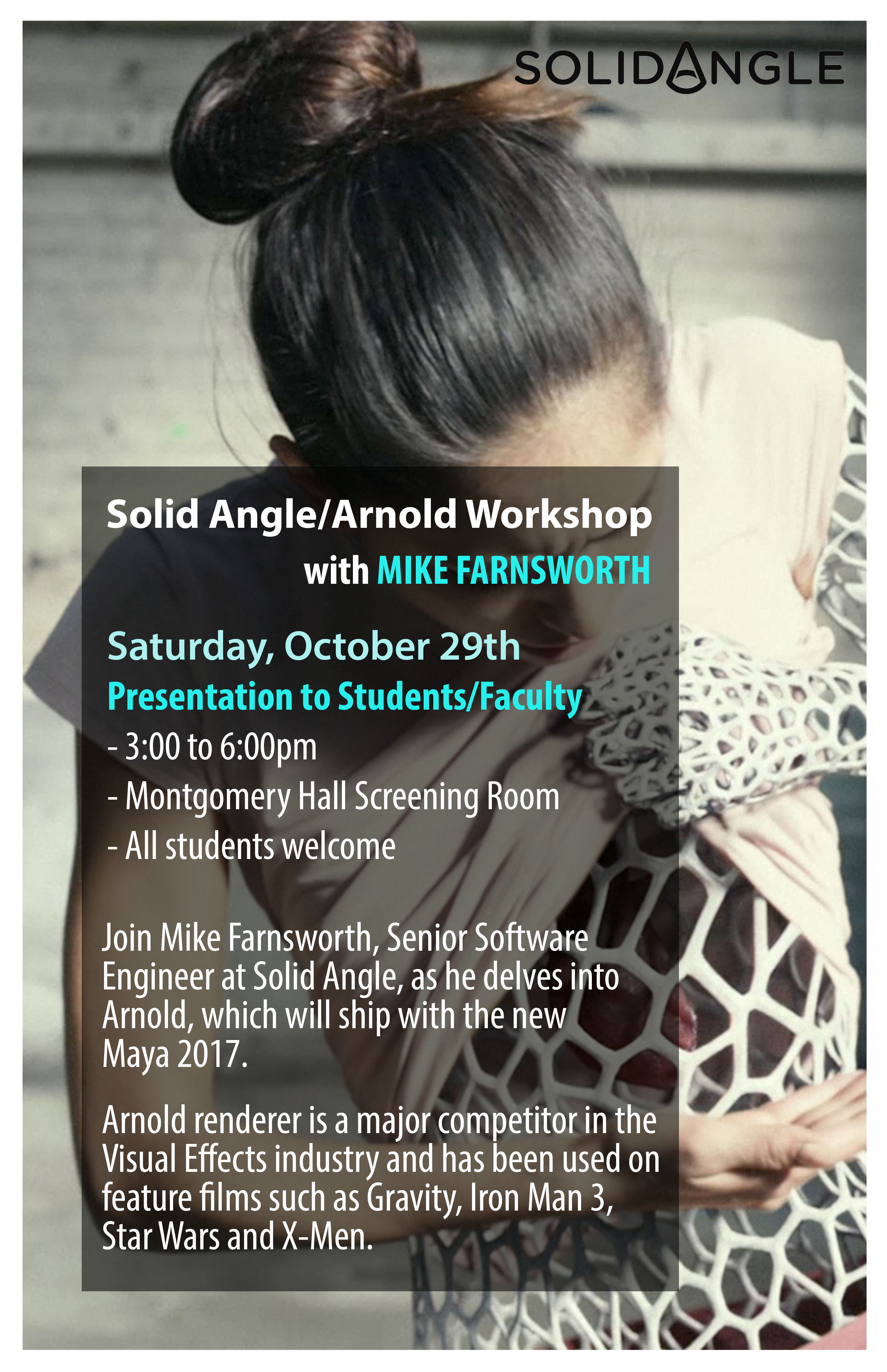 Solid Angle/Arnold Workshop with Mike Farnsworth