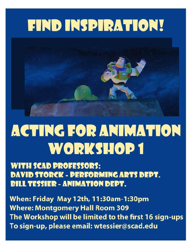 Acting for Animation Workshop