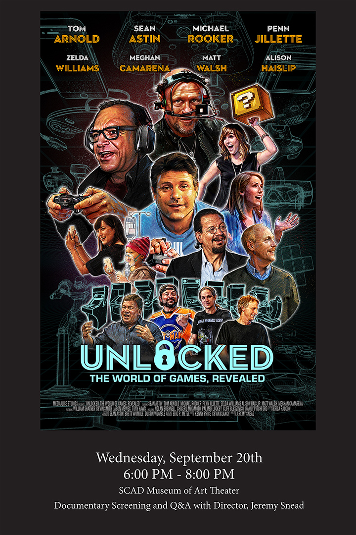 UNLOCKED – The World of Games, Revealed