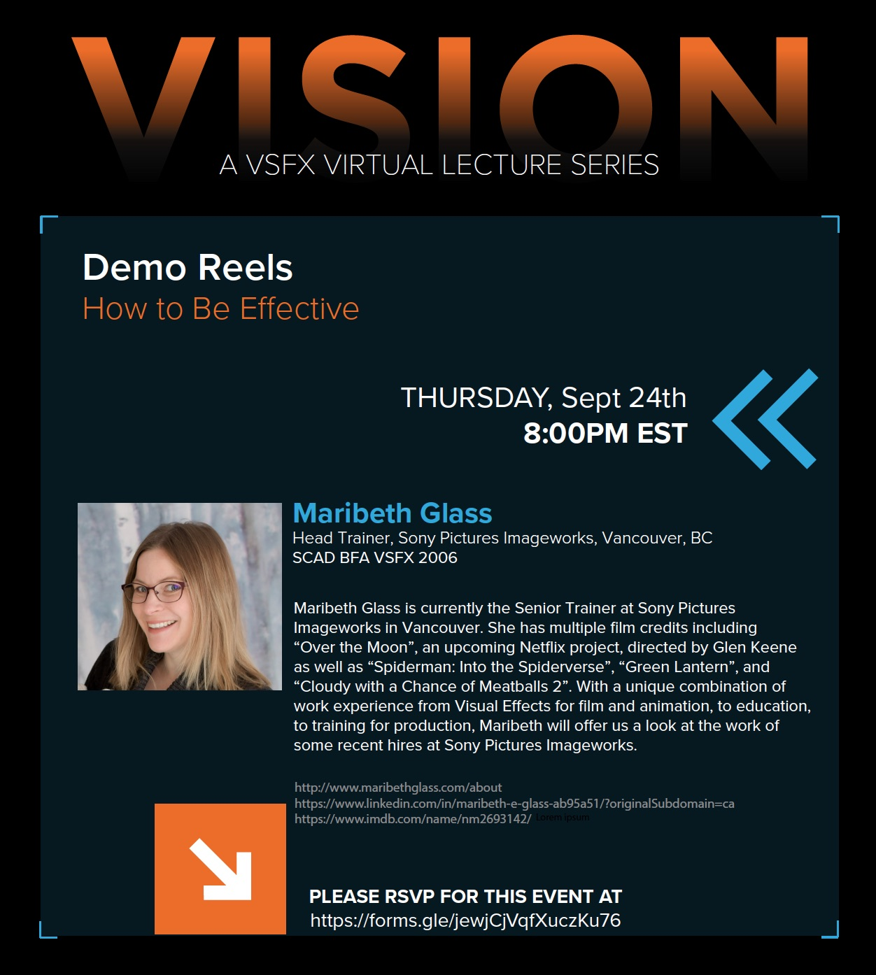 VISION – Maribeth Glass