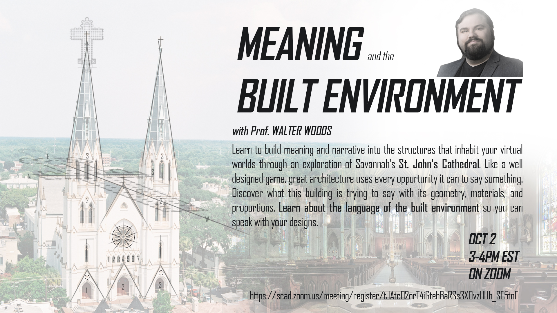 Meaning and Built Environment with Prof. Walter Woods