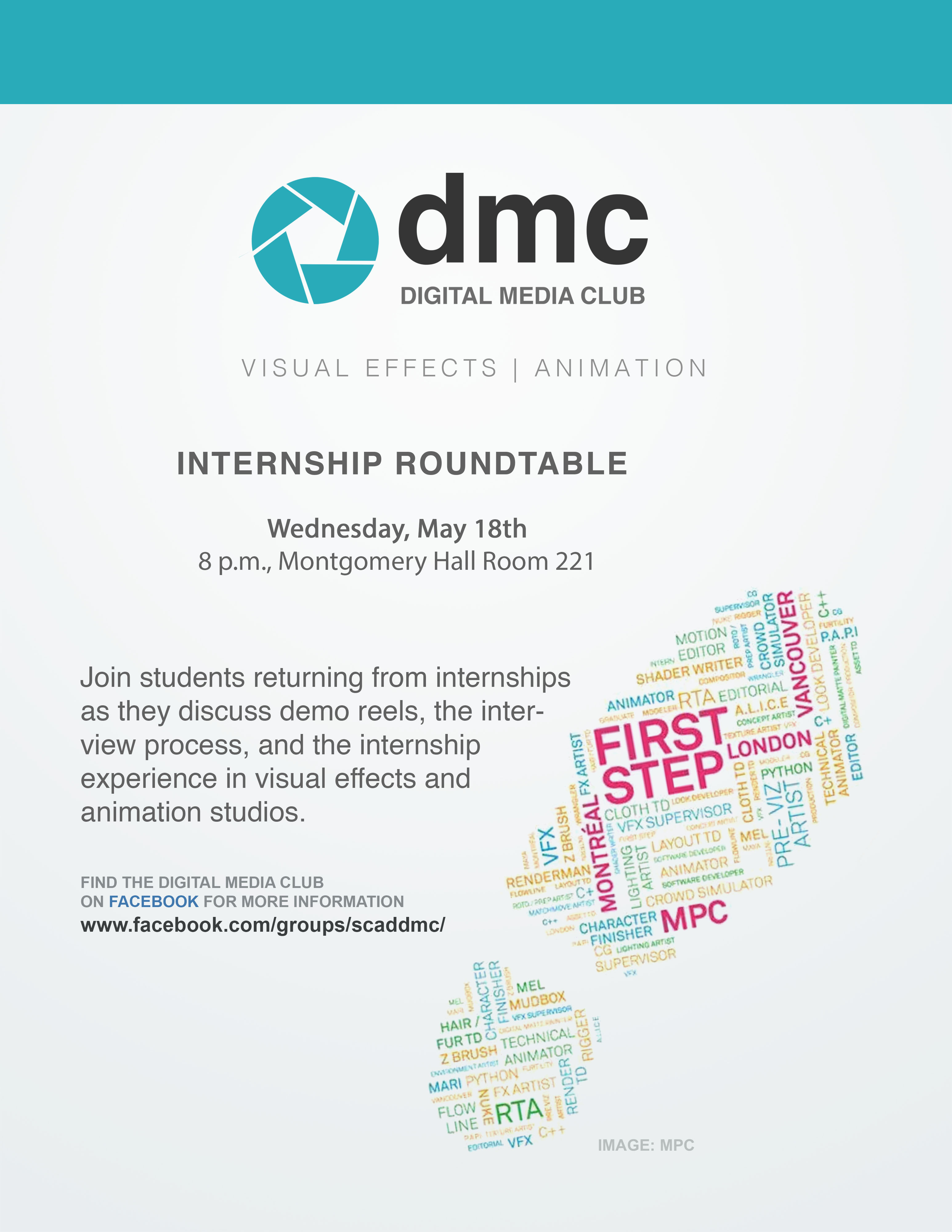 Digital Media Club – Internship Roundtable