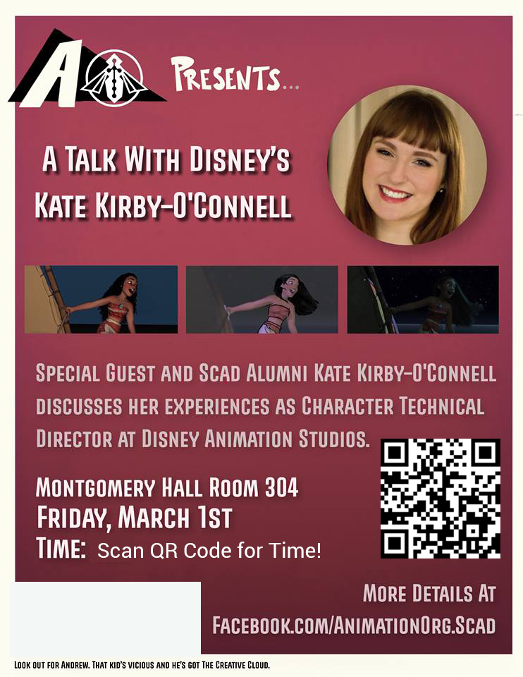 AO Presents… A Talk with Disney's Kate Kirby-O'Connell