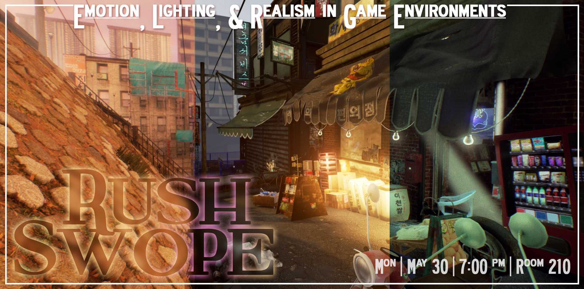 Emotion, Lighting, & Realism in Game Environments