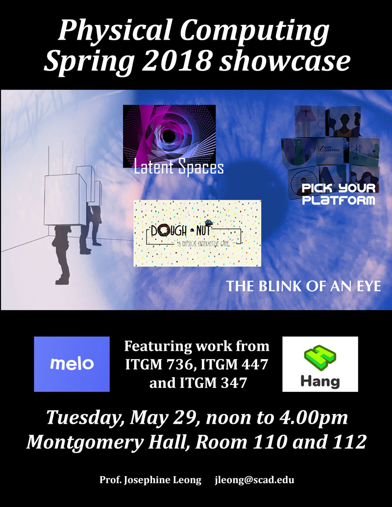 Physical Computing Spring 2018 Showcase