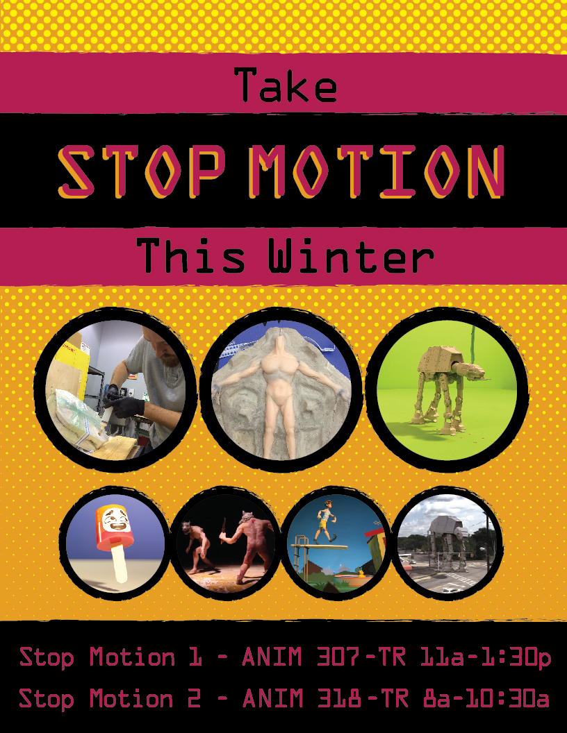 Take STOP MOTION This Winter